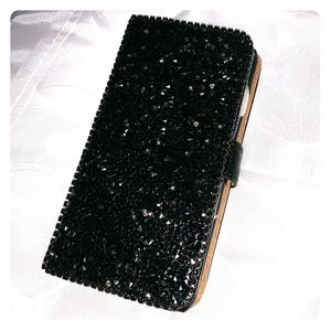Bling iPhone 7/8 wallet phone case.